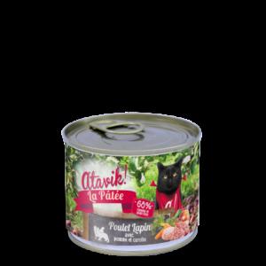 Atavik boites pour chat recette poulet lapin