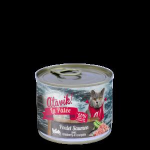 Atavik boites pour chat recette poulet saumon