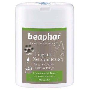 Beaphar® lingettes yeux/oreilles/pelage