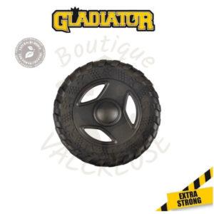 Gladiator tyre frisbee disque à lancer plat aspect pneu 21,5 cm Valcreuse boutique
