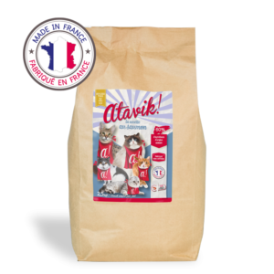 Atavik croquettes pour chat au saumon made in france