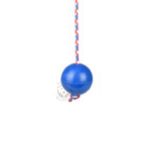 balle pleine en caoutchouc avec corde