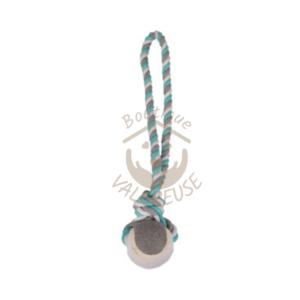 corde à noeuds avec balle