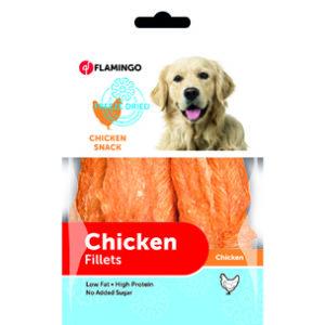 chicken filets lyophilisés
