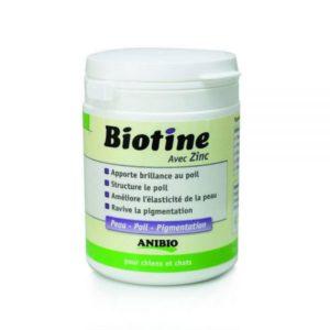 Biotine avec zinc