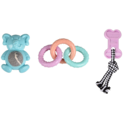 Assortiment Puppy Toy Loekie