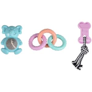 Lot de 3 jouets en TPR