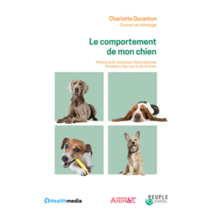 Livre sur le comportement des chiens.